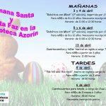 Planes con niños: Biblioteca Publica Azorín