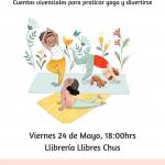 Yoga Cuentos Llibrería llibres Chus