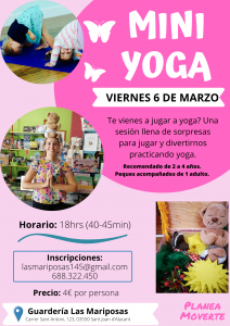 Mini yoga caro rueda