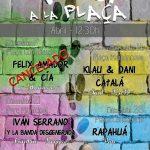 Alicante con niños, agenda cultural: musica a la plaça