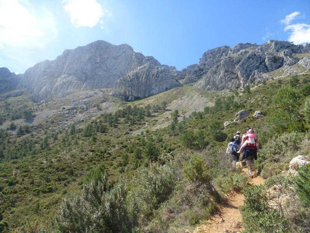 Alicante con niños: Sierra de Bernia