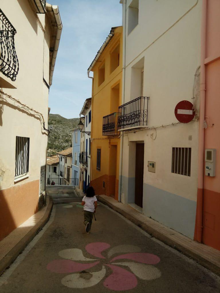 Planes con niños: Vall de la Gallinera.