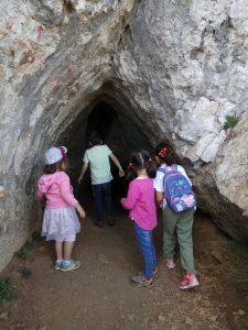 Sierra de Bernia con niños