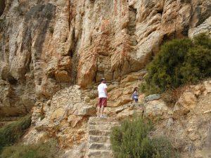 Ruta de los acantilados benitatchell