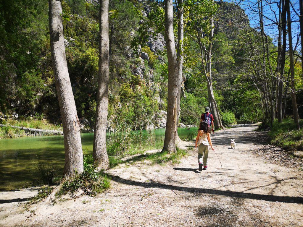 Alicante con niños senderismo