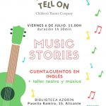 Agenda Cultural Alicante con niños Tolon tell on
