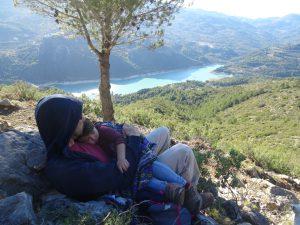 Alicante con niños guadalest