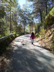 Ruta circular pantano Guadalest