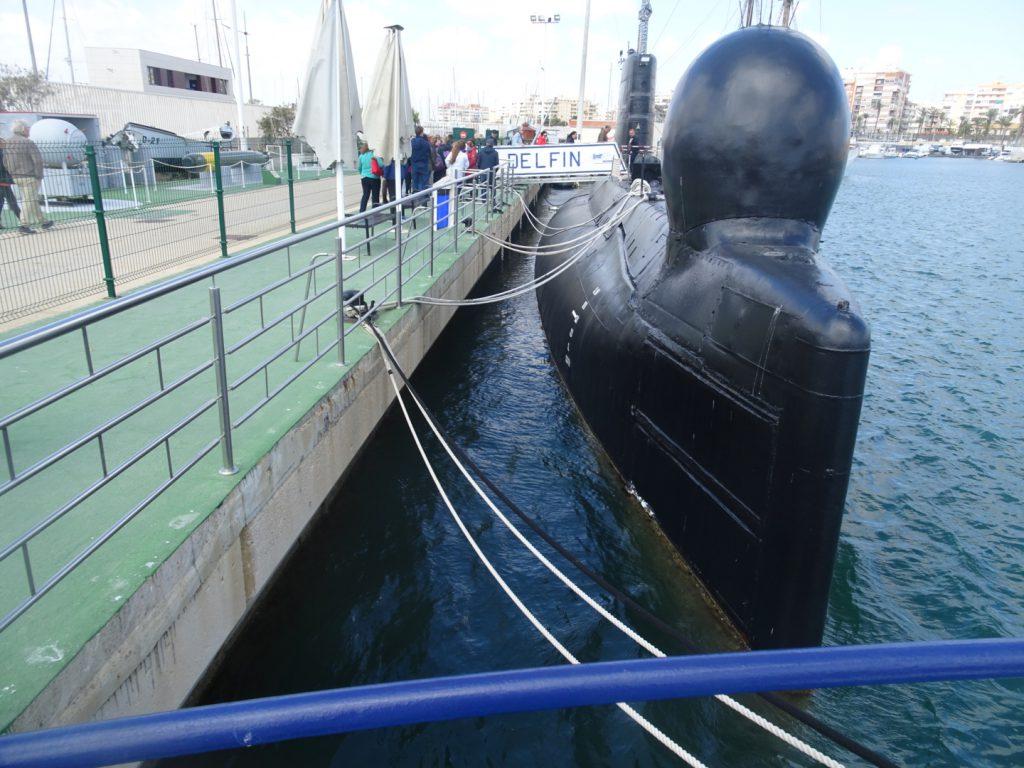 submarino delfin torrevieja