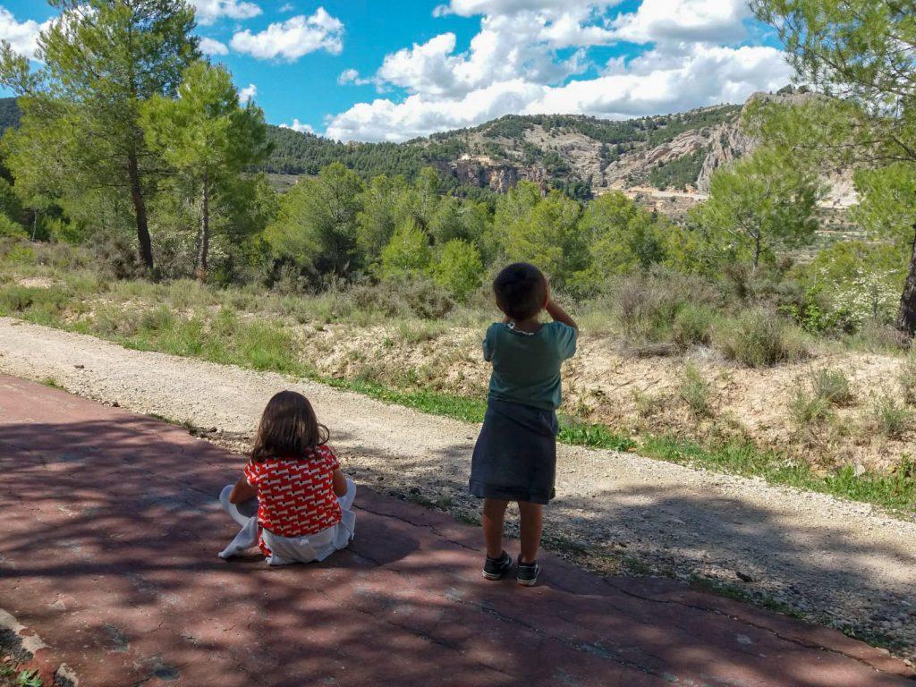 senderismo con niños alicante
