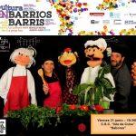 Cultura en Barrio Alicante con niños