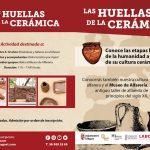 Huellas de ceramica agost planes con niños