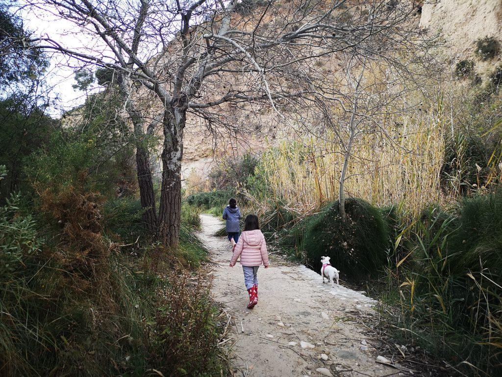 rutas de Senderismo con niños alicante