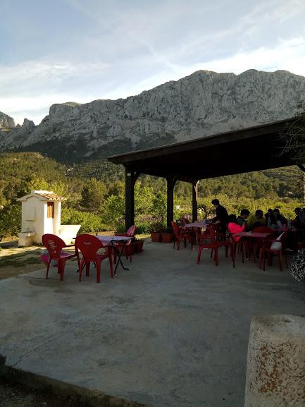 restaurante en la naturaleza alicante