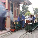 Paseo en tren niños alicante