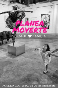 Planea Moverte agenda cultural alicante