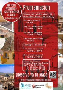 Feria artesanal de agost