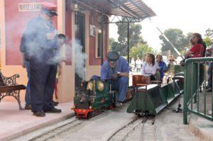 Circcuito de trenes Torrellano
