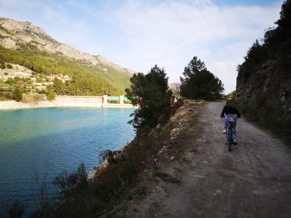 rutas en bicicleta alicante