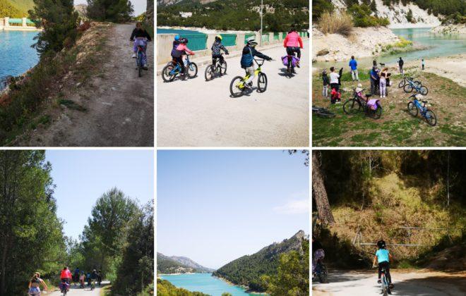 Ruta en bici: embalse de guadalest